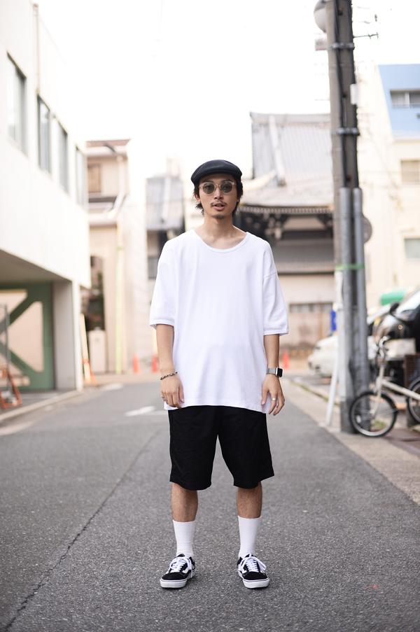 大須で撮影したタカクワさん