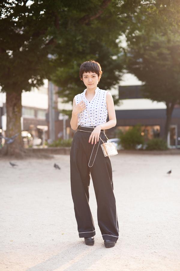 大須で撮影したマチルダさん