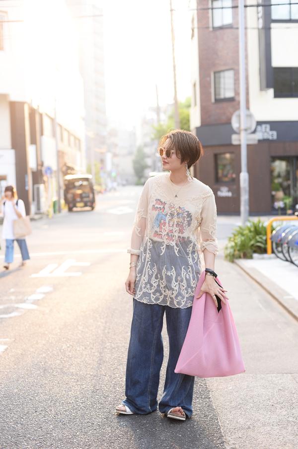 大須で撮影したminahoさん