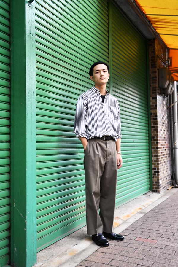 大須で撮影したみのるさん