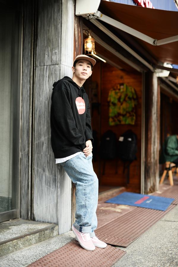 大須で撮影したムサさん