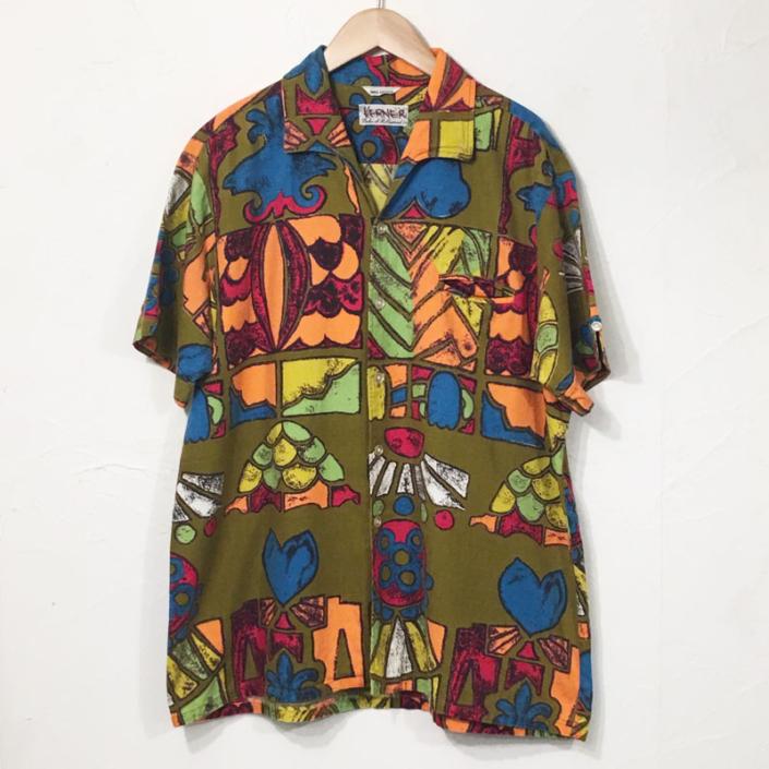 1960s Cotton Hawaiian Shirts(Duke of Hollywood)