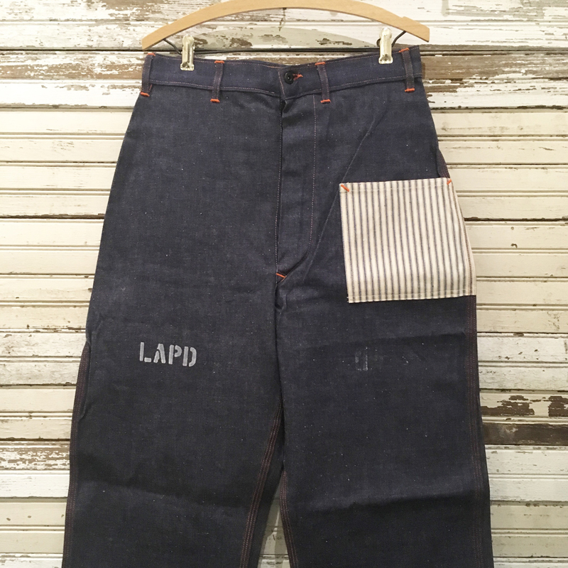 1950's LAPD Denim Trousers Deadstock(USED)