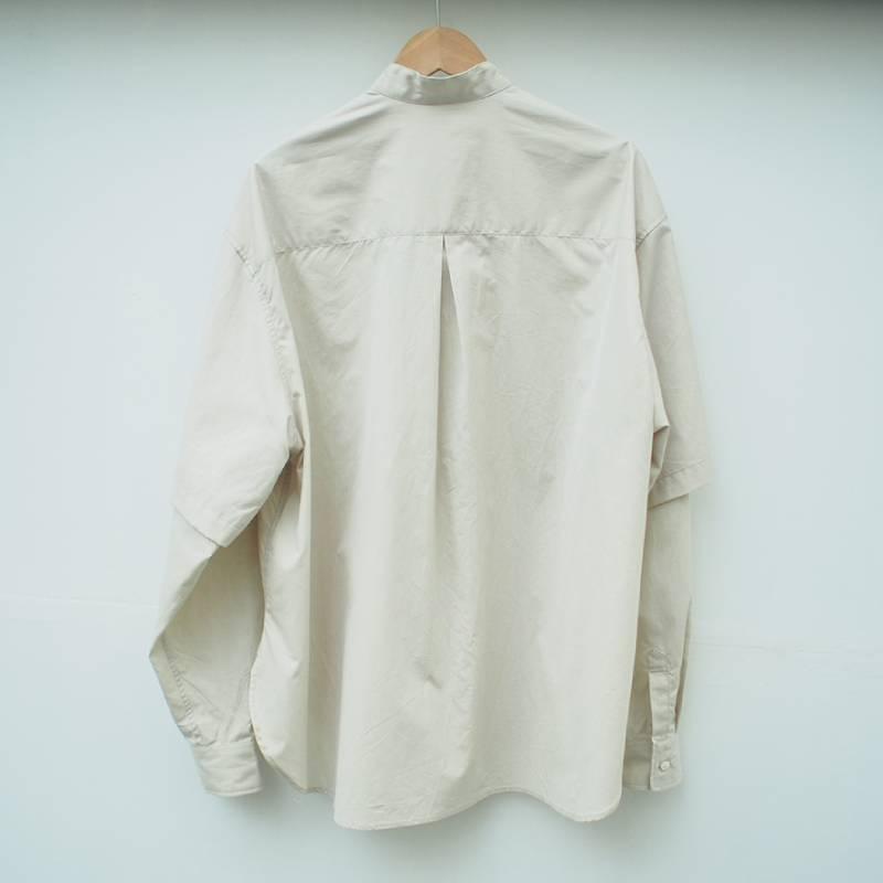 COTTON CHAMBRAY DRESS SHIRT(Name.)