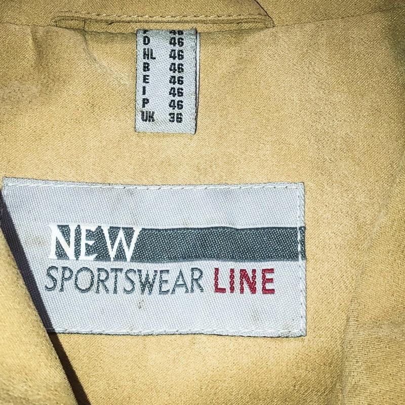 90's fake suède coat(USED)