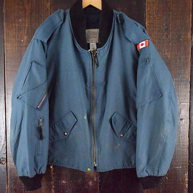 90's ROYAL CANADIAN AIR FORCE フライトジャケット(USED)