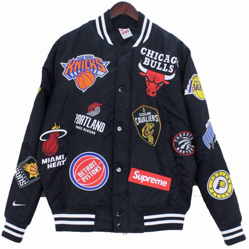 NBA Teams Warm-Up Jacket(SUPREME)