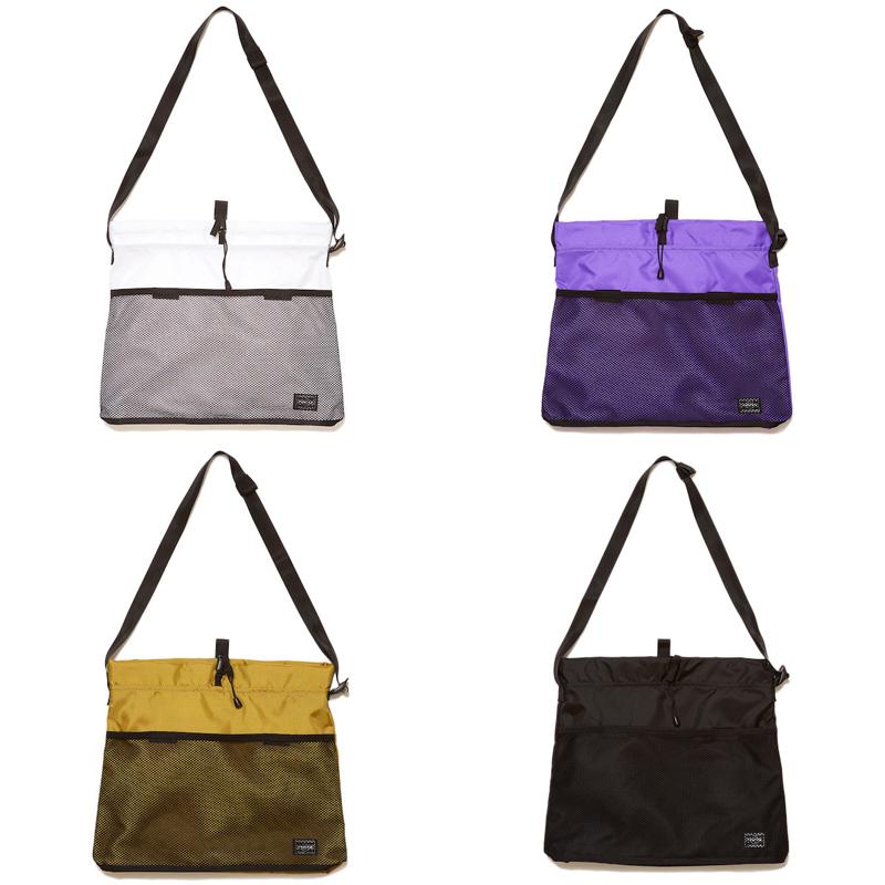 BAL/PORTER® DRAWSTRING SHOULDER BAG(BAL)
