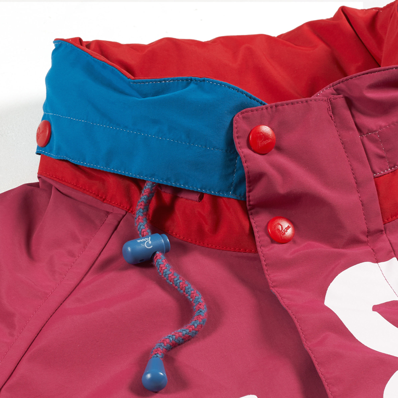 jacket red piste(by Parra)