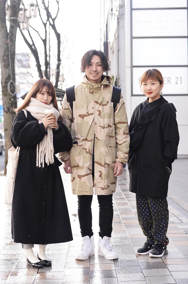 (左)みゆ(中)シモジキリュウ(右)ヤマザキフミエ