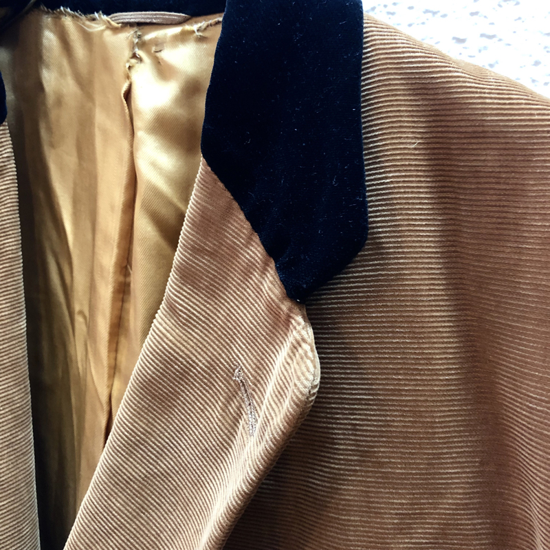 1950's Corduroy Teddy Type Jacket(McGREGOR)