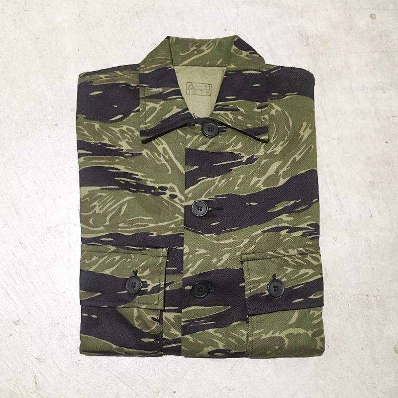1960's US.ARMY Tiger Stripe Jacket Okinawa Made Deadstock(USED)