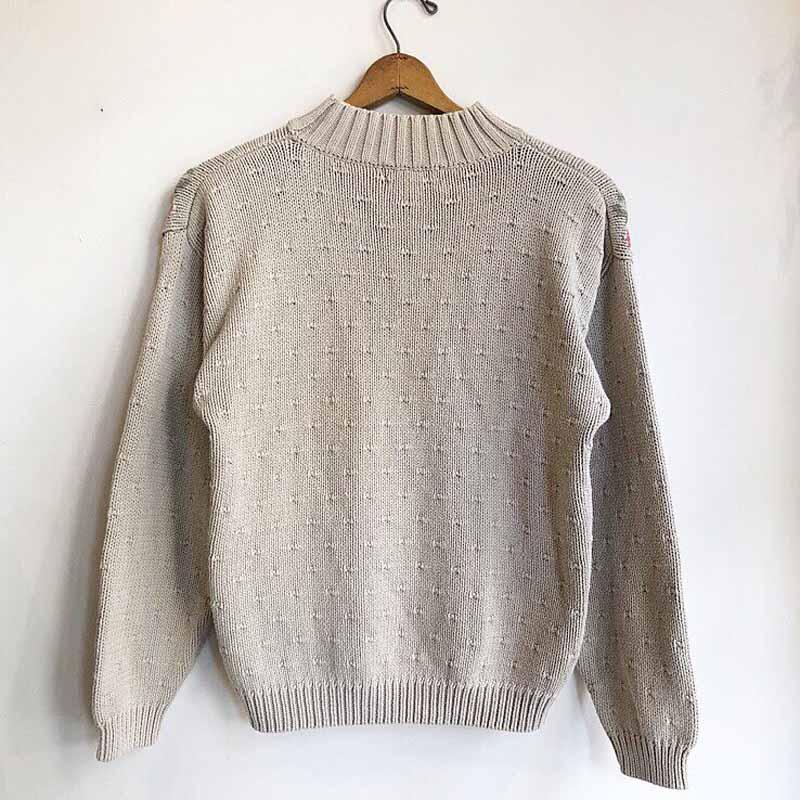 """""""Eddie Bauer"""" flower spring knit(USED)"""