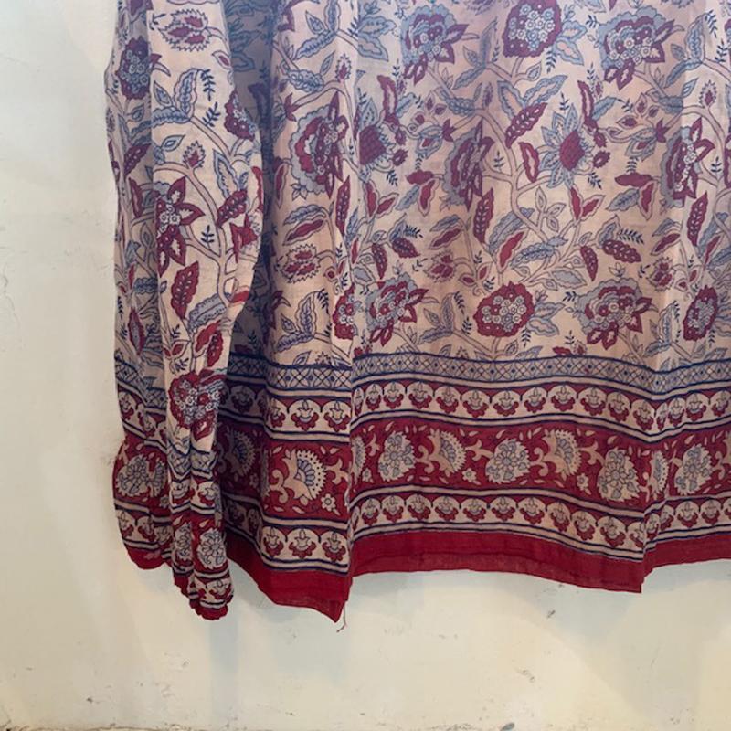 1970's vintage indian cotton tops(VINTAGE)