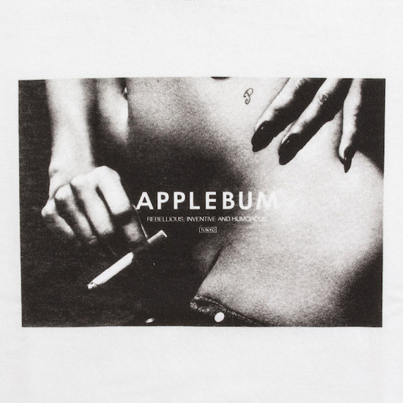 """nuda"" T-shirt(APPLEBUM)"