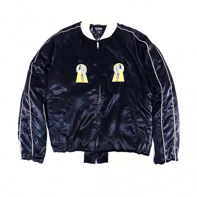 """SAD LIFE"" Souvenir Jacket (O.C CREW)"