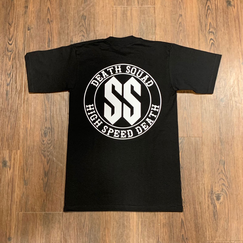 Death Squad SS High Speed Death Short Sleeve Tees(DEATH SQUAD)