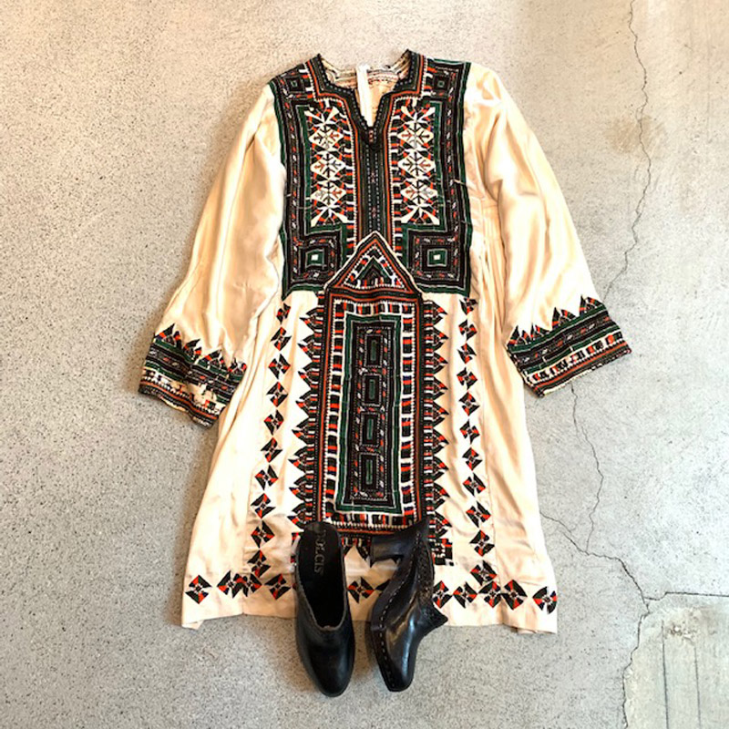 VINTAGE Balochi embroidery dress(VINTAGE)