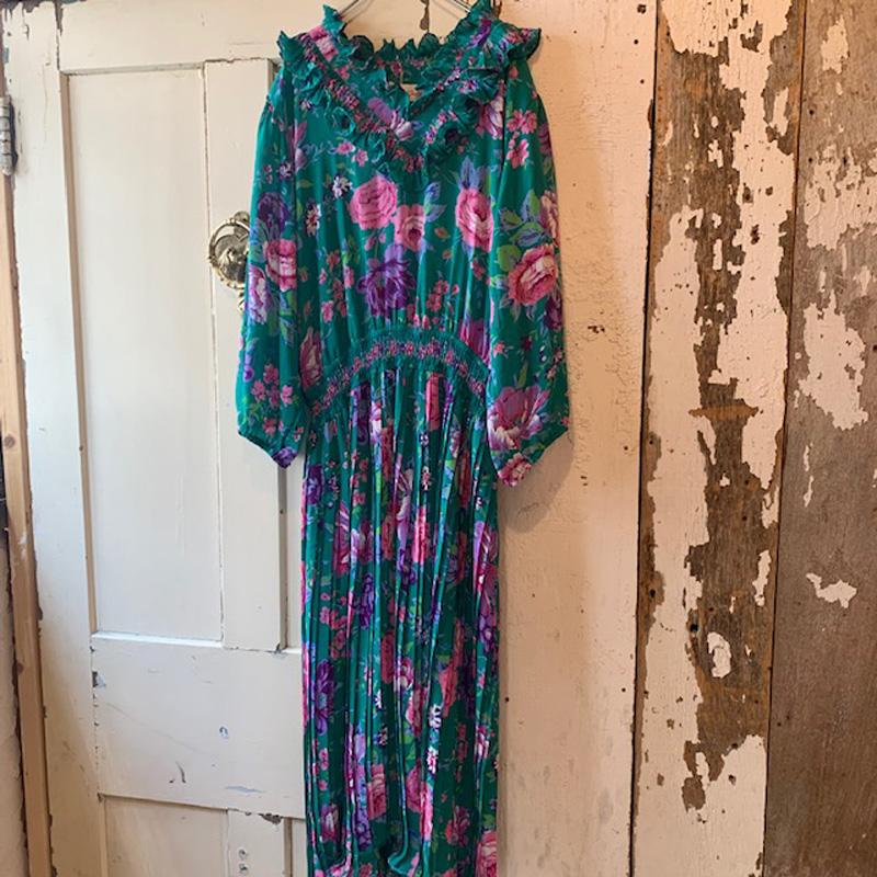 1980's Vintage Susan Fries dress(VINTAGE)
