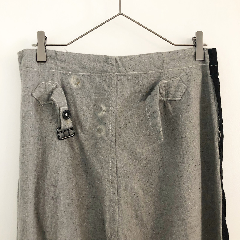 WWⅡ British army cotton prisoner pants(used)