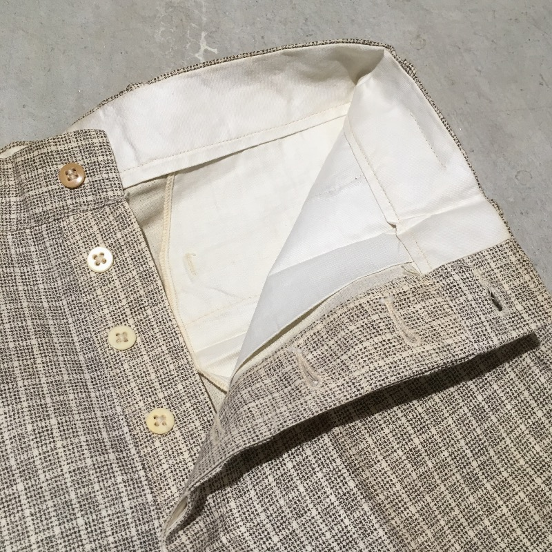 1930's~ Stifel Fabric Trousers Deadstock(USED)