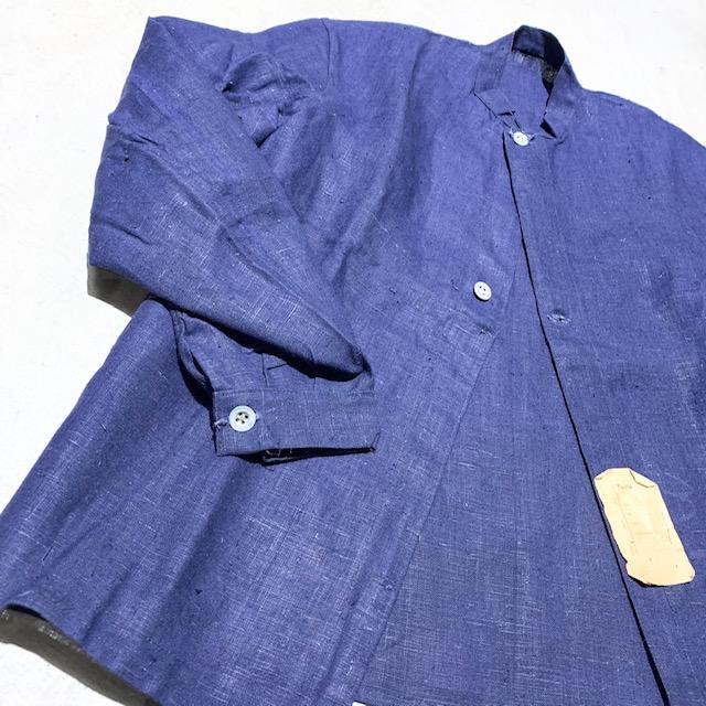 1920~30's Belgie Linen Jacket Deadstock(USED)