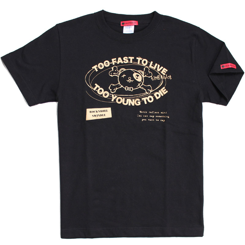 TOO FAST TO LIVE Tシャツ(DEATHBEAR LIVE ON MUZIK )