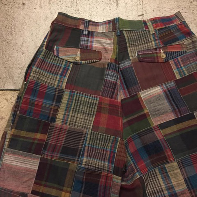 Old Patchwork Short Pants(USED)