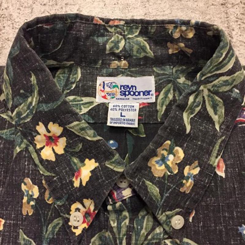 "1990's ""reyn spooner"" Pullover Hawaiian Shirt(USED)"
