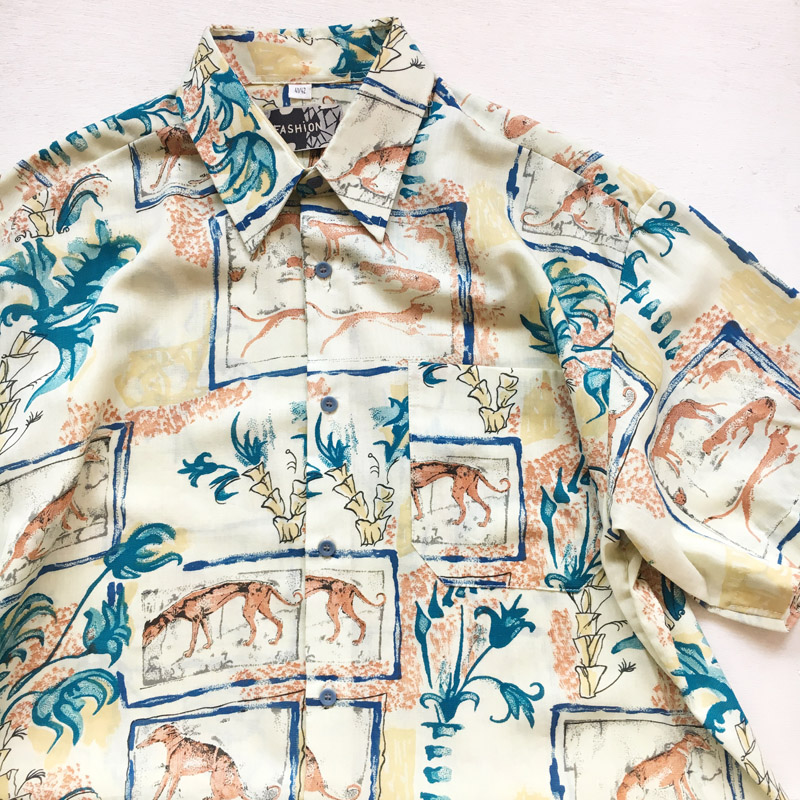 Deadstock 1980s S/S Shirt(Fashion)