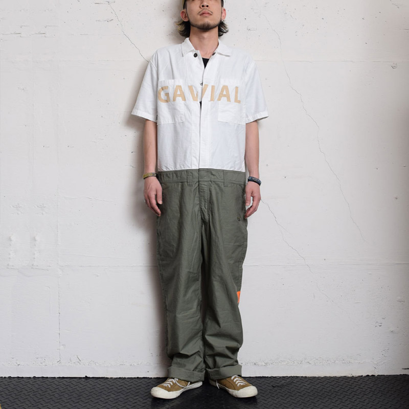 S/S JUMP SUITS(GAVIAL)