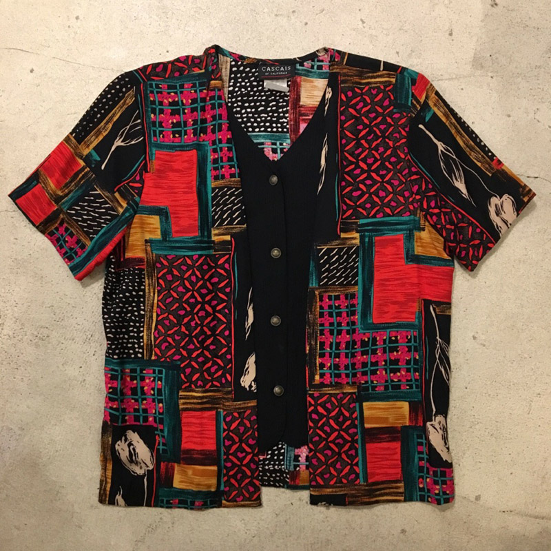 Old Layered Style Shirt(USED)