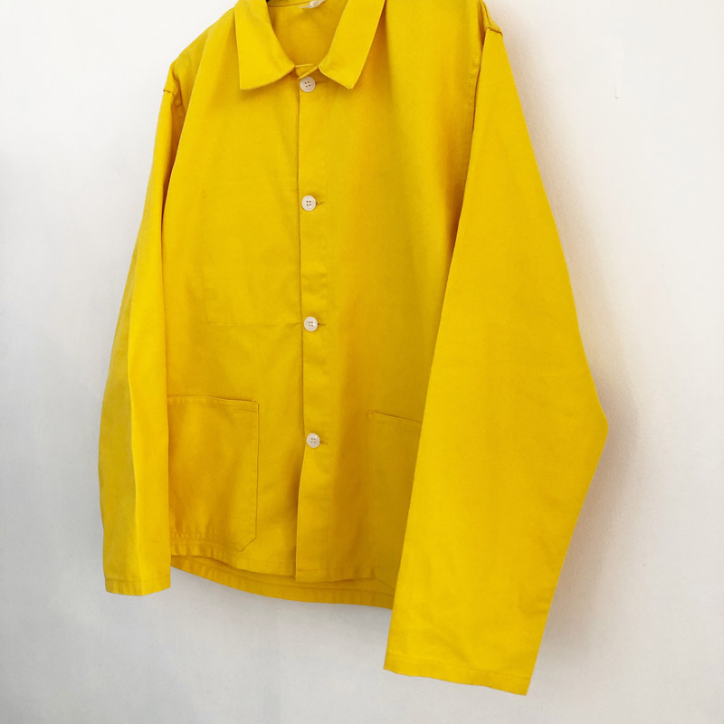 French cotton×polyester work jacket(used)