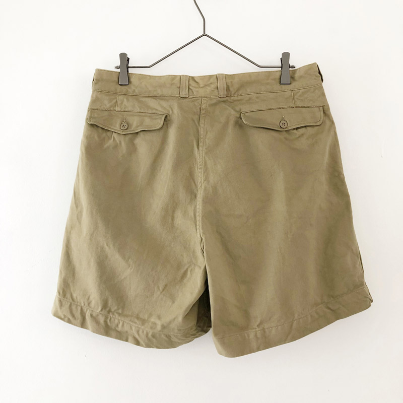 French army chino short pants(used)