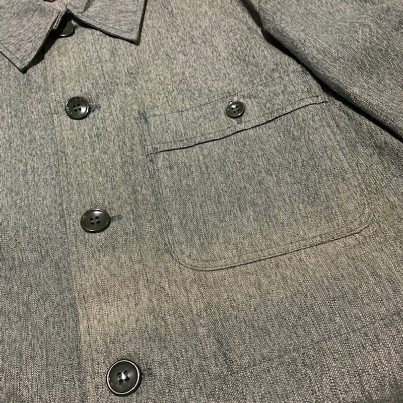 1950's〜 BMZ Green Chambray Work Jacket Deadstock(USED)