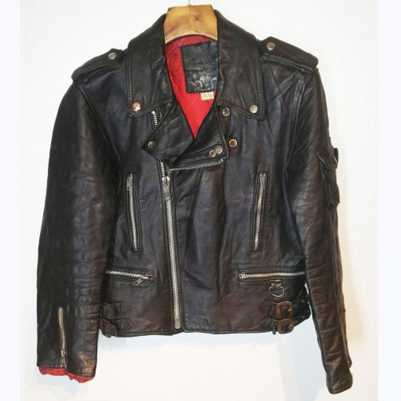80's Campri double riders jacket (USED)