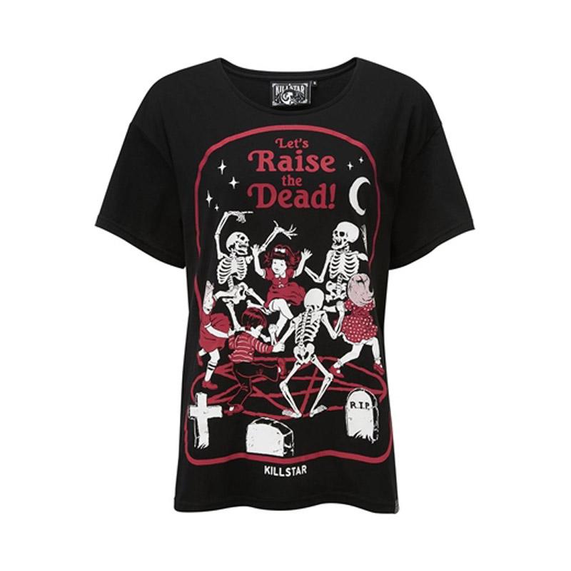 RAISE THE DEAD RELAXED TOP(KILL STAR)