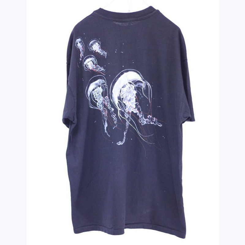 90's Hanes Jellyfish print Tee(USED)