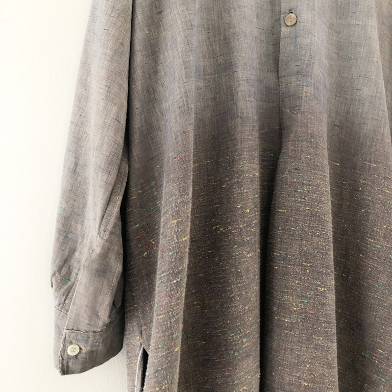 Euro vintage cotton pullover shirt(used)