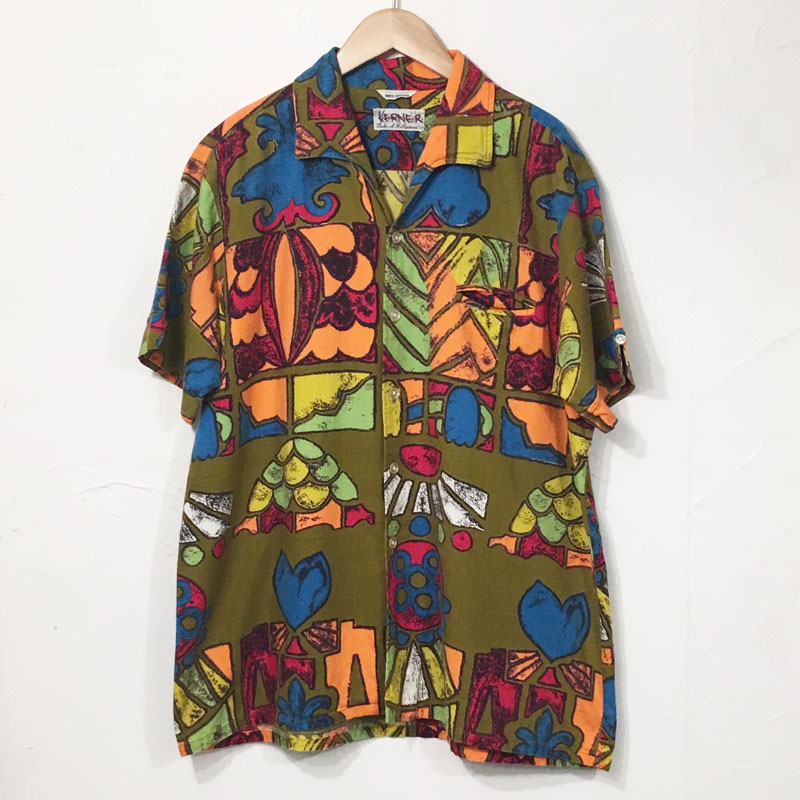 1960s Cotton Hawaiian Shirts(Duke of Hollywood)