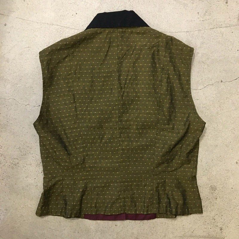 Sleeveless Blouse Made in FRANCE(USED)