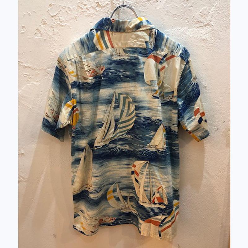 90s ralph lauren hawaiian shirts(USED)