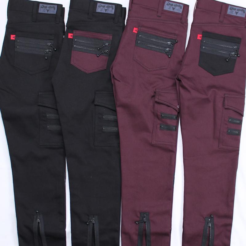 ストレッチスリムジップジーンズ(BLACK MARKET)
