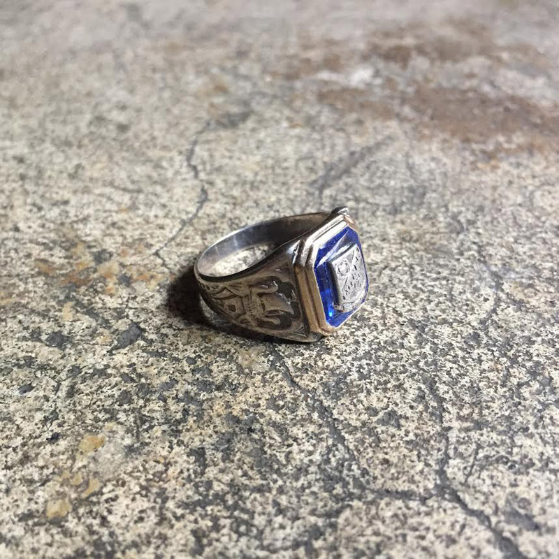 1932's Sterling Silver Class Ring(VINTAGE)