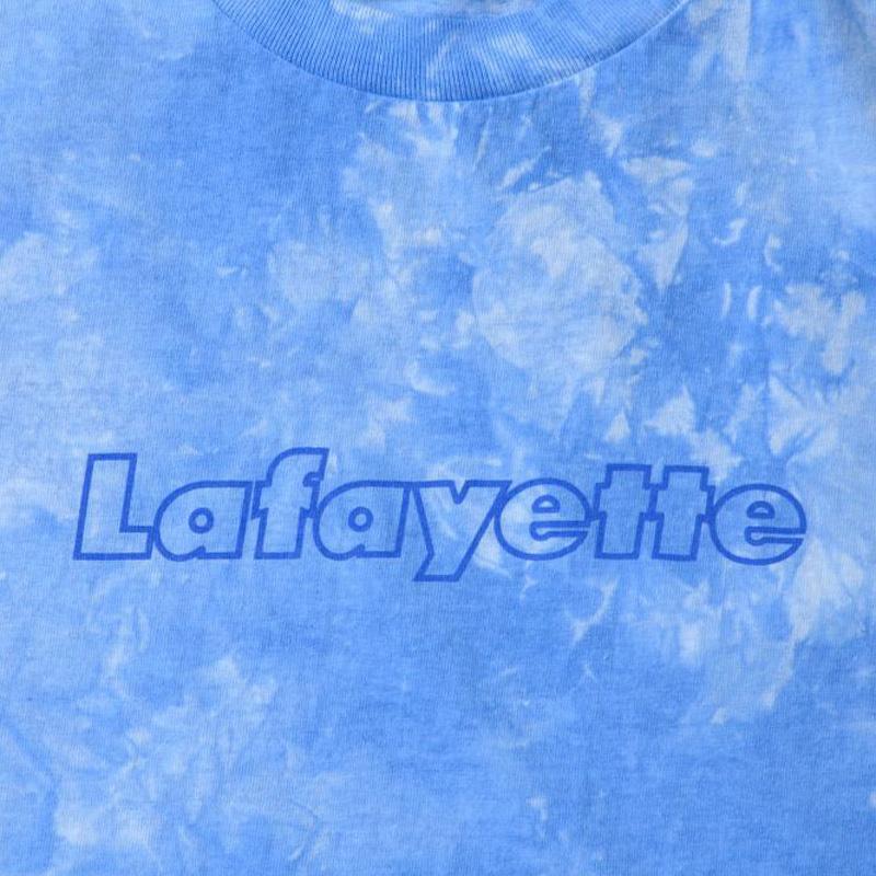 TIE DYED Lafayette OUTLINE LOGO TEE(LAFAYETTE)