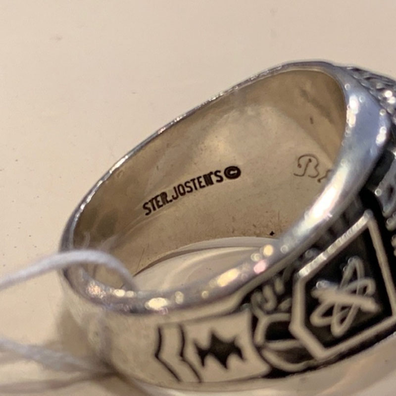 1992 Orange County High School Ring Sterling Silver(JOSTENS社)