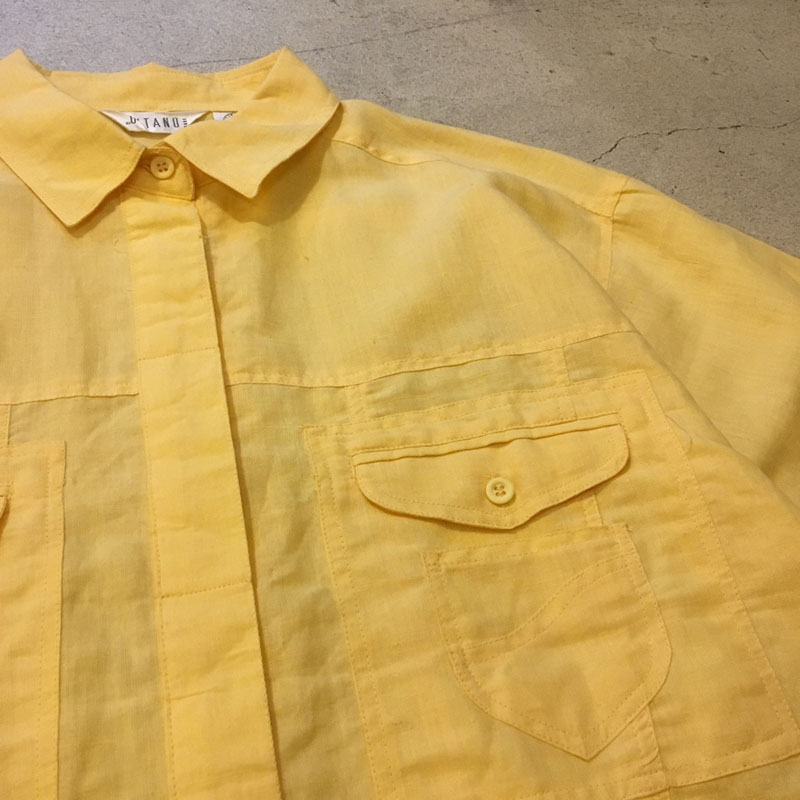 Dead Stock Yellow Shirt(USED)