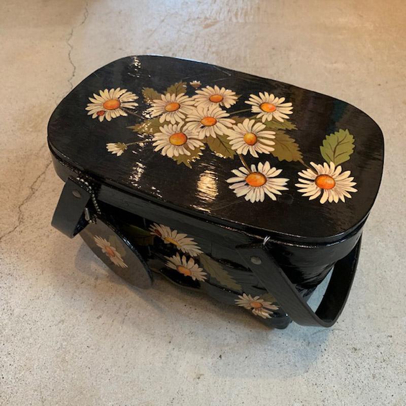 1970's vintage wood purse(VINTAGE)