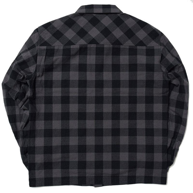 JET BLACK CHECK SHIRTS(GERUGA)