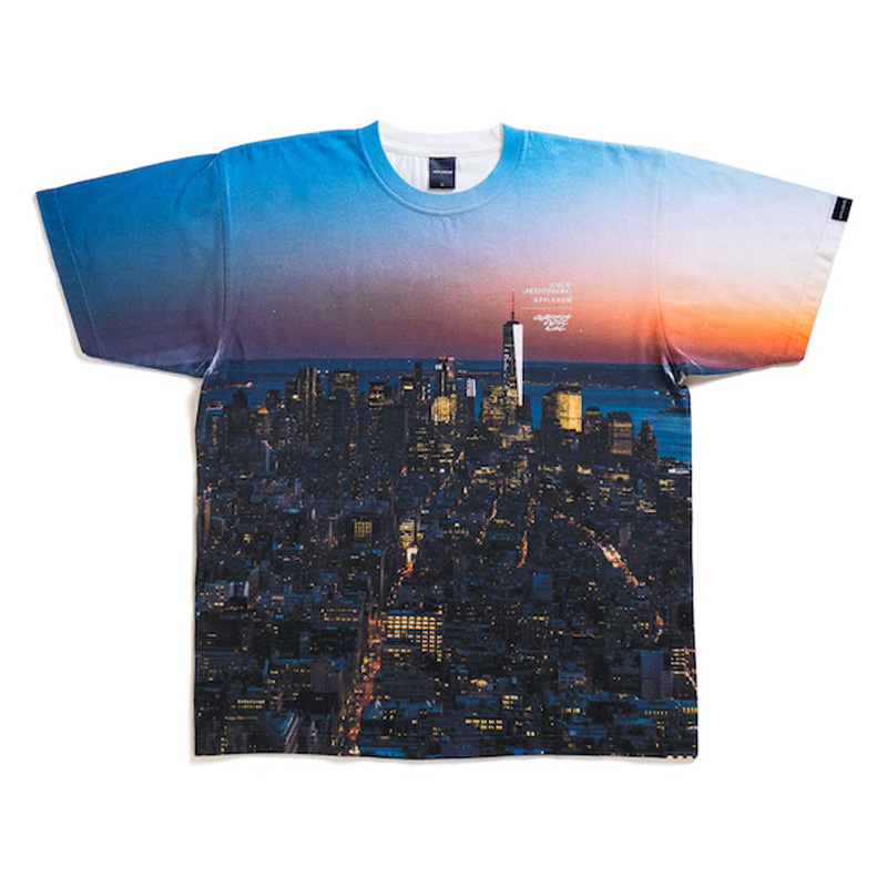"""Manhattan"" T-shirt(APPLEBUM)"